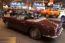 Lancia Flaminia Touring cabriolet - Le patrimoine Lancia - Rétromobile 2014