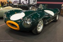 Jaguar Type D de 1955 - Fiskens - Rétromobile 2014