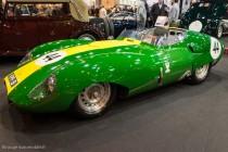 Lister Jaguar Costin de 1959 - Fiskens - Rétromobile 2014