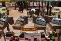 Le stand Minialuxe / Passion 43 - Rétromobile 2014
