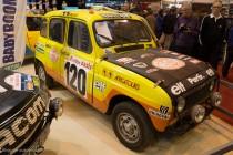 Renault 4L Paris-Dakar - Rétromobile 2014