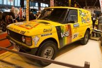 Range Rover Paris-Dakar - Rétromobile 2014