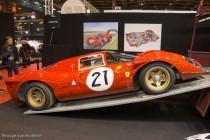 Ferrari P4 - Le Mans 1967 - Rétromobile 2014