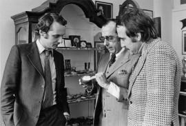Jack Heuer entouré de Niki Lauda et Clay Regazzoni
