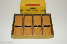Boite détaillant Dinky Toys de 4 Estate Car, 1950 - elles étaient vendues à l'unité