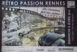 Affiche Rétro Passion Rennes 2014