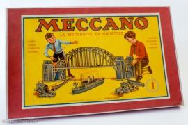 Boite de Meccano, 1950