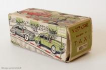 Boite Minialux de vedette Taxi, 1955