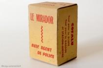 Boite Cofalu le mirador de police, 1950