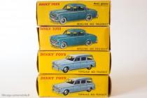 Boites Dinky Toys de la 403, 1956