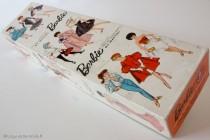 Boite de poupée Barbie 1959