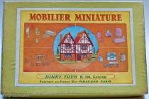 Boite Dinky Toys mobilier miniature, 1937