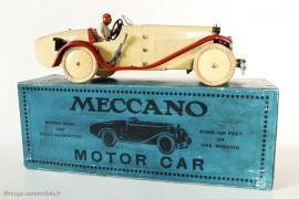 Meccano Constructeur d'automobile, 1932 - Rare boite pour modèle livré assemblé