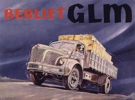 Berliet GLM 10 - publicité fondation Berliet