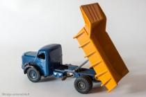 Dinky Toys 580 - Berliet GLM 10 benne carrière - levage de la benne par crémaillère