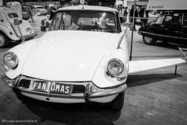 Rétro Passion Rennes 2014 - La Citroën DS de Fantomas
