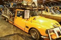 """Rétro Passion Rennes 2014 - Citroën DS 23 Tissier six roues """"Travelling"""" 1976"""