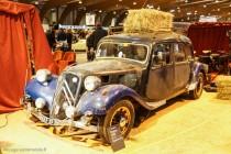 Rétro Passion Rennes 2014 - Citroën traction familiale sortie de grange
