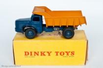 Dinky Toys 34 A - Berliet GLM 10 benne carrière -1er tupe - boite non illustrée
