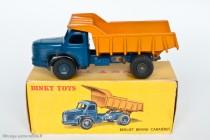 Dinky Toys 580 - Berliet GLM 10 benne carrière - jantes concaves - boite illustrée