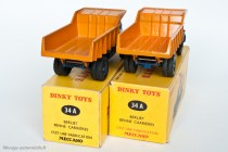 Dinky Toys 34 A - Berliet GLM 10 benne carrière