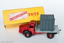 Dinky Toy 34 B - Berliet GLM 10 Plateau avec container - 1er type