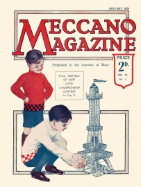 Meccano Magazine anglais janvier 1924