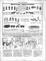 "Meccano Magazine français de avril 1934 - apparition en France des ""Meccano - Miniatures"""