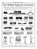 Meccano Magazine anglais d'août 1924 - apparition des premiers accessoires Hornby