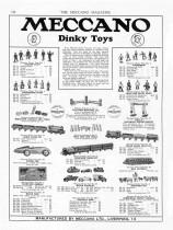 "Meccano Magazine anglais de avril 1934 - première apparition de ""Dinky Toys"""