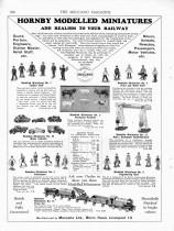 """Meccano Magazine anglais de décembre 1933 - première apparition des """"Hornby Modelled Miniatures"""""""