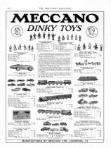 "Meccano Magazine anglais de mai 1934 - deuxième apparition de ""Dinky Toys"""