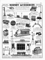 Meccano Magazine anglais de novembre 1931 - accessoires de chemin de fer Hornby