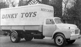 """Bedford """"Meccano - Dinky Toys"""" Pallet Jekta - photo d'époque"""