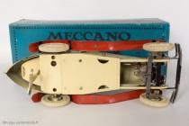 Motor car constructor n°2 - Meccauto 1932 - Châssis avec direction et  clé de remontage