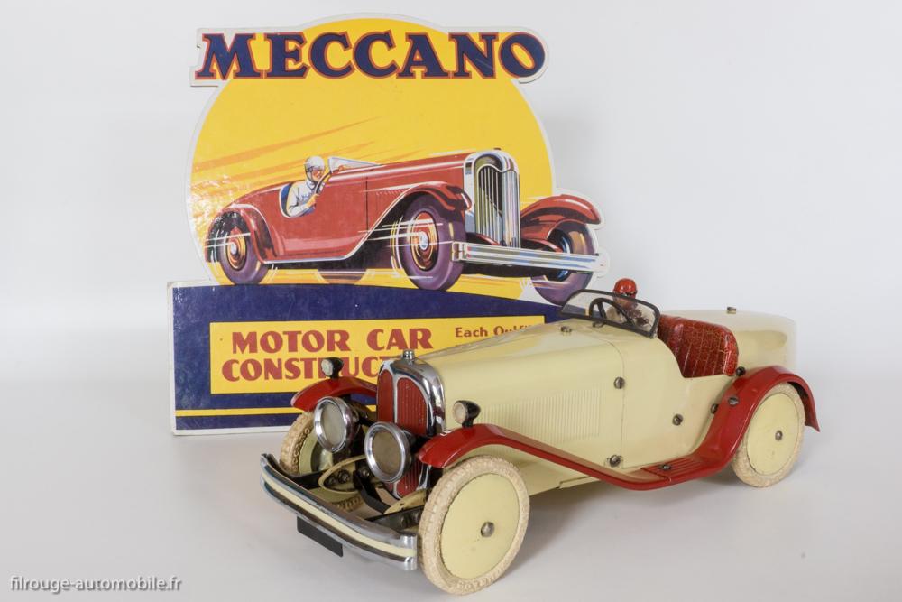 Motor car constructor n°2 - Meccauto 1932 avec présentoir de magasin