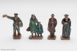 Personnages de gare français Hornby puis Dinky Toys
