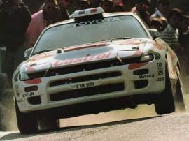 Toyota Celica Turbo 4WD - 1er au Tour de Corse 1994 - Pilote Didier Auriol