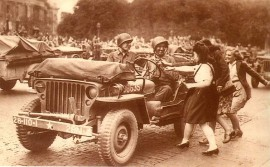 La Jeep, symbole de la libération