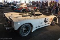 Porsche 908. Participation aux 24 Heures du Mans 1970 comme camera car