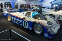 Porsche 962 C. Vainqueur des 24 Heures du Mans 1987