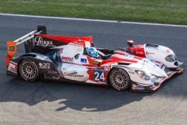 8ème 24h du Mans 2014 - Oreca 03R - Nissan - Sebastien Loeb Racing n°24 - Rast/Charouz/Capillaire