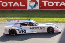 24h du Mans 2014 - La Nissan Zeod RC n°0 - performante, écologique, mais abandon à la 19ème minute de course.