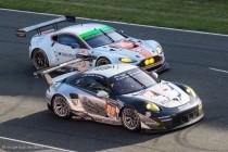 24h du Mans 2014 - Porsche 911 vs Aston Martin Vantage - Les LMGTE Am à la bagarre