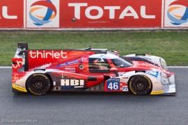 6ème 24h du Mans 2014 - Ligier JS P2 - Nissan n°46 - Thiriet/Badey/Gommendy