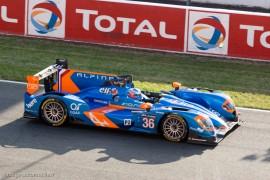7ème 24 h du Mans 2014 - Alpine A450b - Nissan n°36 - Chatin/Panciatici/Webb