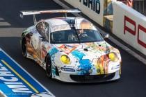 24h du Mans 2014 - Porsche 911 GT3 RSR - Abandon - Décoration Art Car 2014