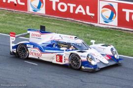 3ème 24h du Mans 2014 - Toyota TS 040 hybrid n°8 - Davidson/Lapierre/Buemi