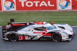Audi R8 e-tron quattro n°2 - Fässler/Lotterer/Tréluyer -Vainqueur des 24 Heures du mans 2014