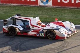 5ème 24h du mans 2014 - Zytek Z11SN - Nissan n°38 - Dolan/Tincknell/Turvey - Vainqueur classe LMP2